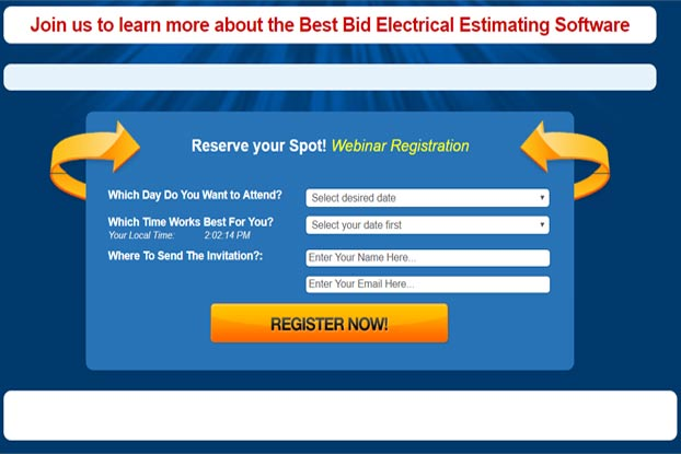 Best Bid Electrical Estimating Software Webinar