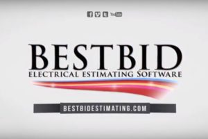 Best Bid Electrical Estimating Software youtube video